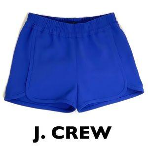 Crew Blue Elastic Waist Shorts Size 00